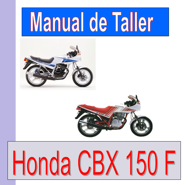 Honda CBX 150  -manual-taller-mecanica-despiece