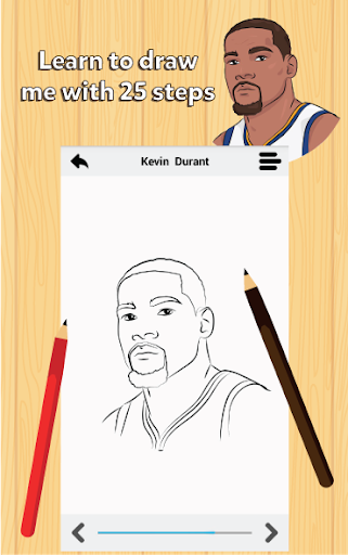 How to draw Professional US Basketball Players 1.9 screenshots 2