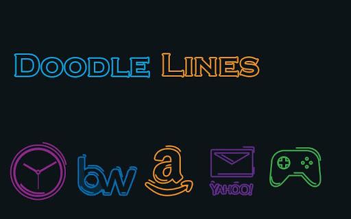 Doodle Lines - Solo Theme