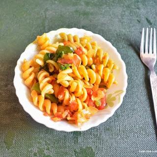 Indian Style Masala Pasta Recipe | Vegetable Pasta Indian Style