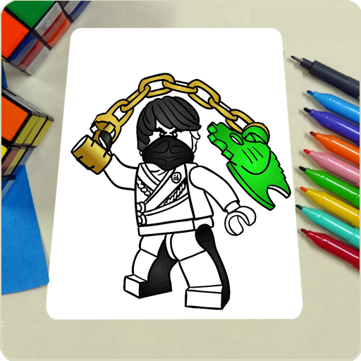 Learn To Draw LEGO Ninjago