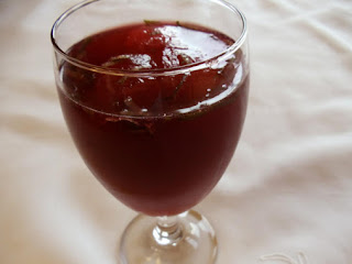 Pomegranate Frost Recipe