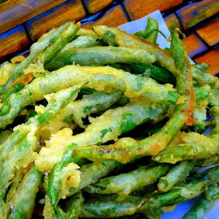 Beer-Battered Green Beans with Tarragon Aioli
