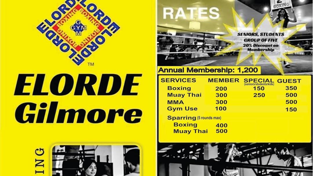Elorde Boxing Gym Gilmore - Boxing Gym sa Granda Street