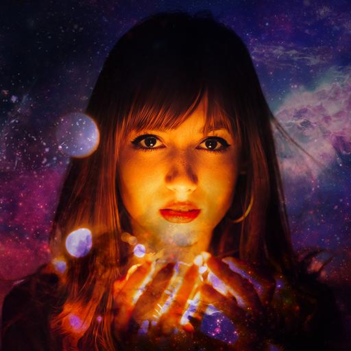 Galaxy Overlay Photo App