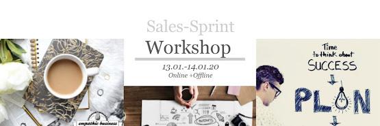empathic business: Salessprint 13.-14.01.20