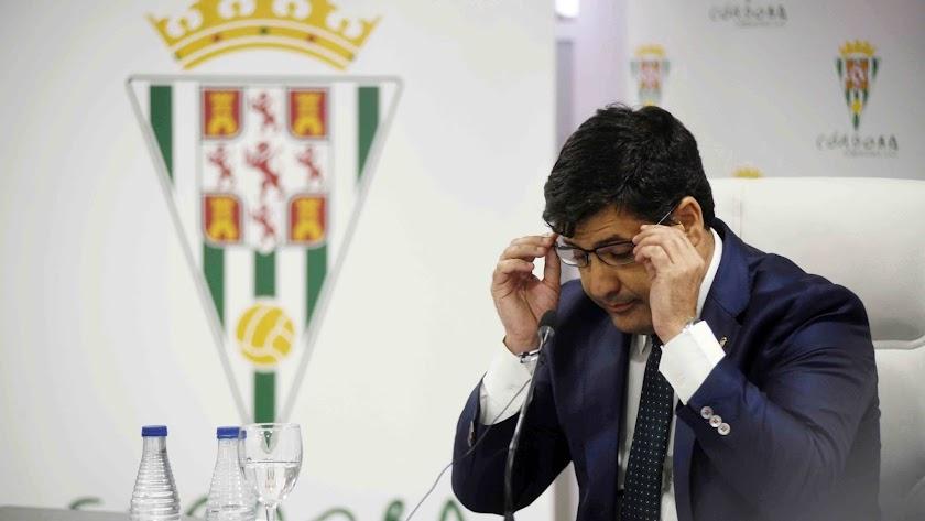 Jesús León es el máximo accionista del Córdoba CF.