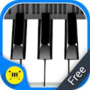 Real Piano Keyboard : Digital