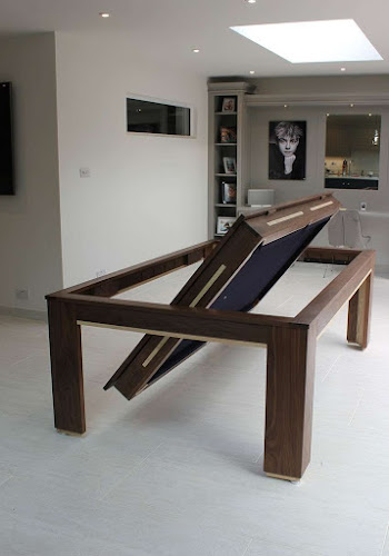 Rotating Pool Dining Table