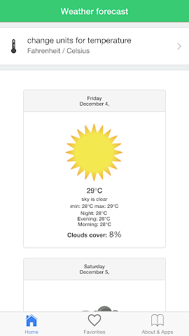 android Philippines weather forecast Screenshot 1