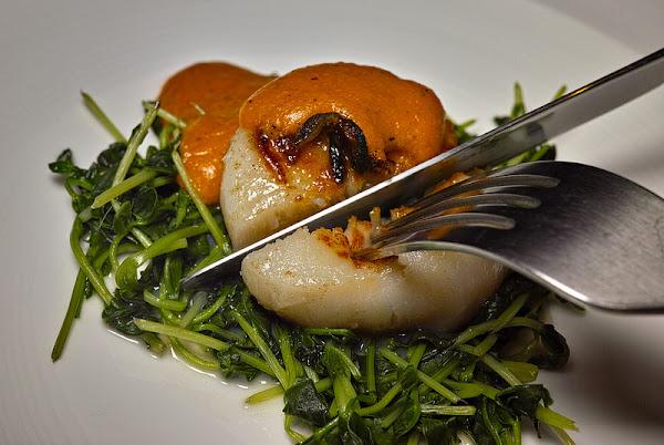 中山國中站 巷弄隱密美食, 好食材好技術的 京炙鐵板燒