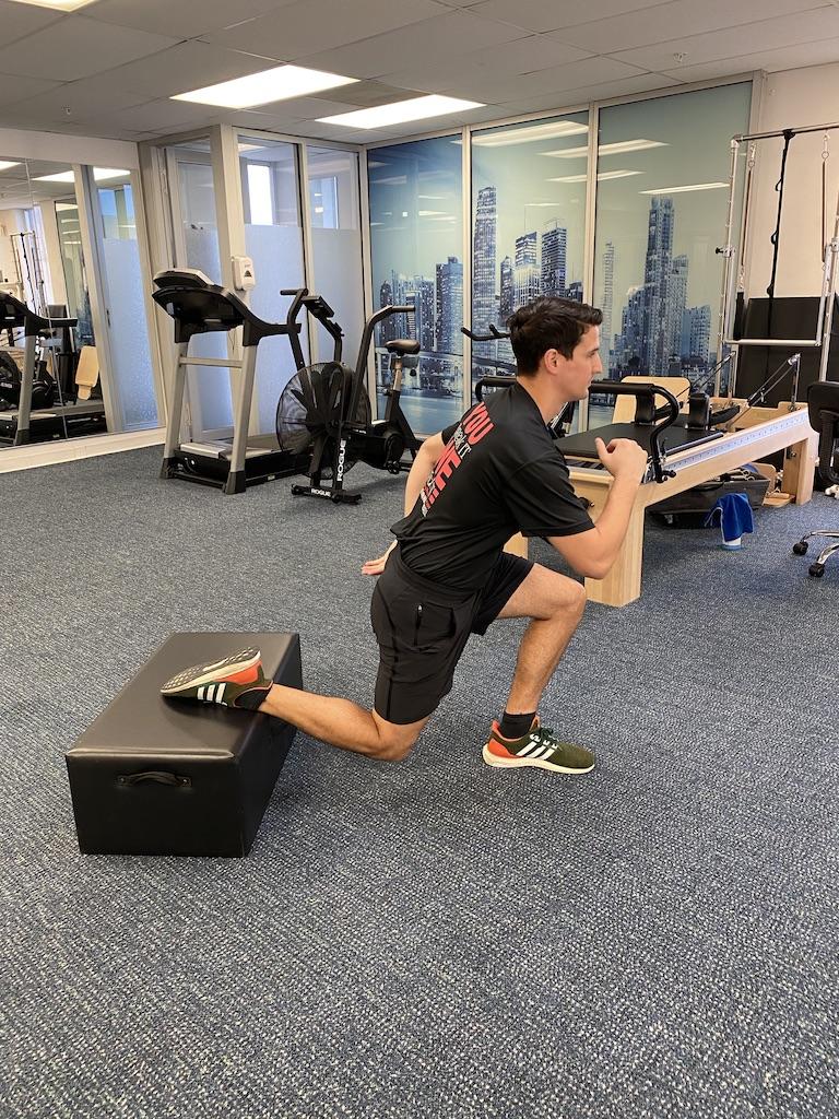 Rear Foot Elevated Split Squats
