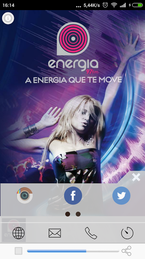 Energia 97 FM- screenshot