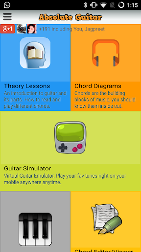 Learn Guitar with Simulator Screenshot