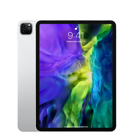 """Apple iPad Pro 11"""" 2020 512GB WIFI + CELL (gen 2) Silver"""