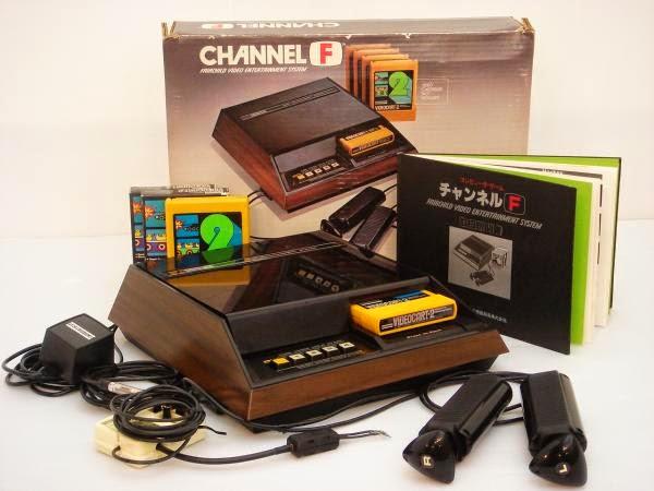 La primera consola programable: Fairchild Channel F
