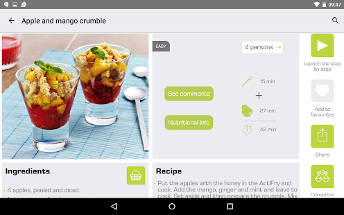 ActiFry - Android Apps on Google Play