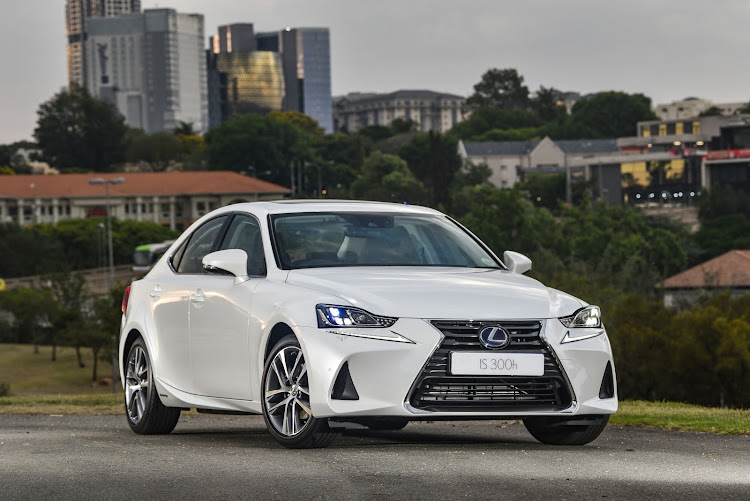 Lexus introduces a hybrid version, the IS 300h, late in the life cycle of the IS sedan range. Picture: SUPPLIED