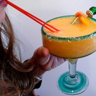 Peach Margaritas.