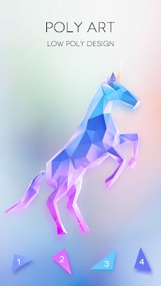 No.Poly - ぬりえ 無料, 塗り絵, 色塗りアプリ, 数字で色, 塗り絵 数字 無料のおすすめ画像1