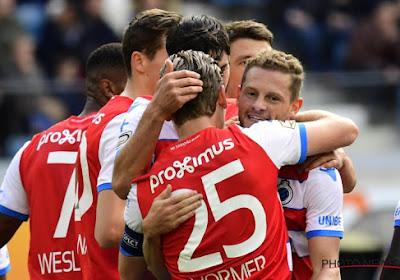 Le Club de Bruges enfonce La Gantoise et garde espoir