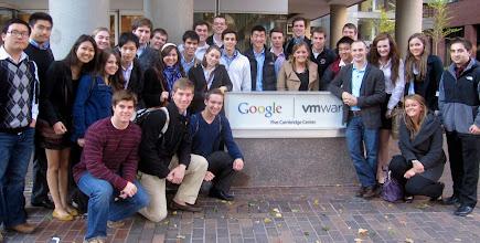 Photo: BC at Google Cambridge