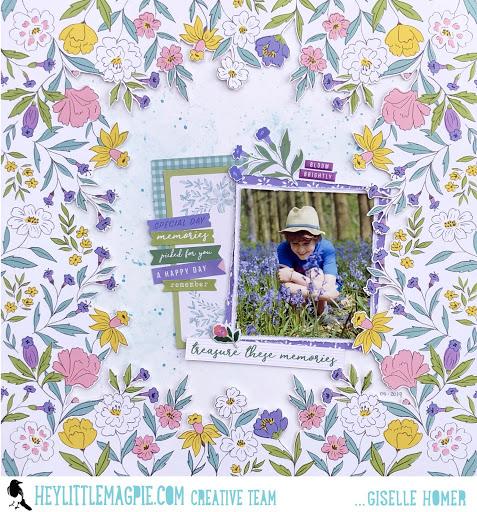 Pinkfresh Studio | Happy Blooms | Part 2 | Giselle Homer