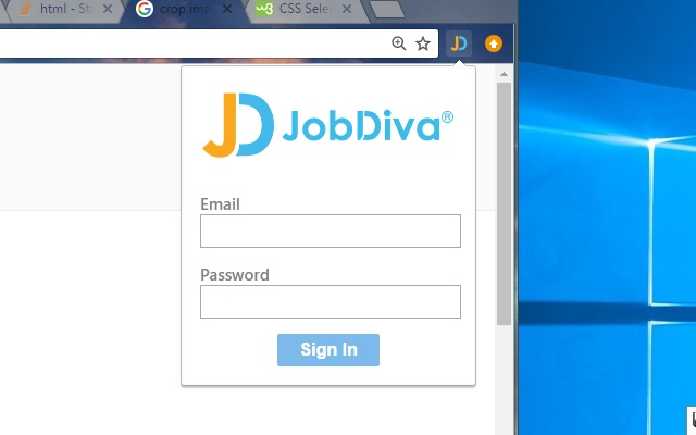 JobDiva Chrome Extension