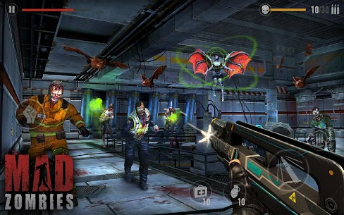 MAD ZOMBIES : Offline Zombie Games Apk Download For Android and Iphone 4