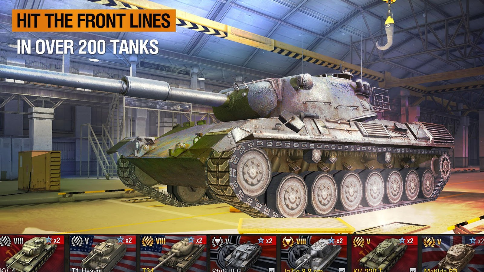 Screenshots of World of Tanks Blitz for iPhone