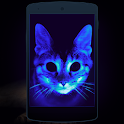 UV light. Simulator icon