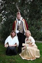 Photo: De Schuimhappers Prins Jan , Prinses Petra en Hofdame Erna