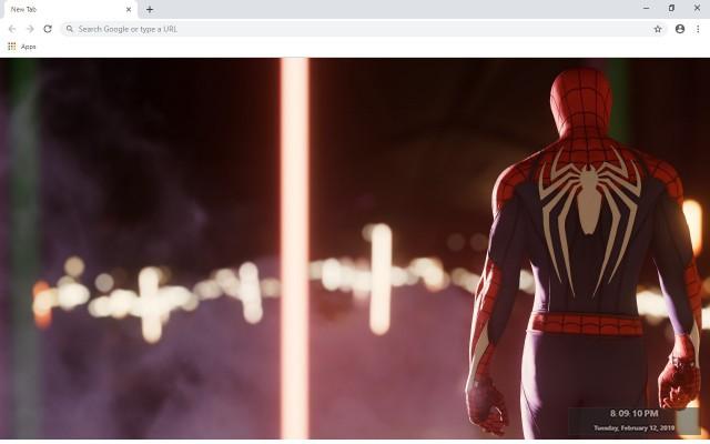 Marvel's Spider-Man New Tab