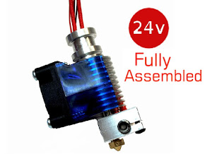 E3D All-metal v6 HotEnd Fully Assembled 3.00mm Direct (24v)
