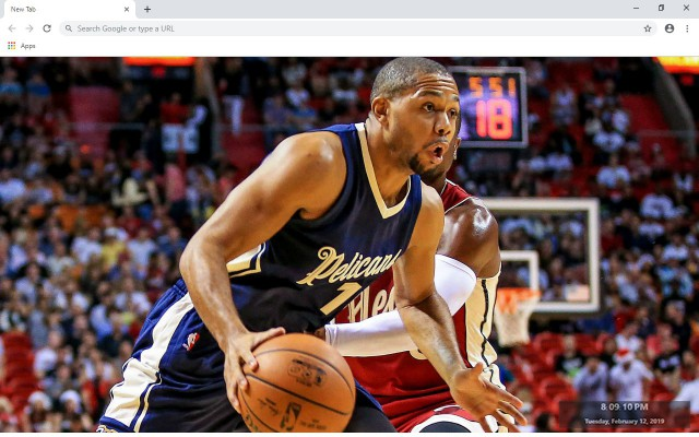 Eric Gordon New Tab & Wallpapers Collection