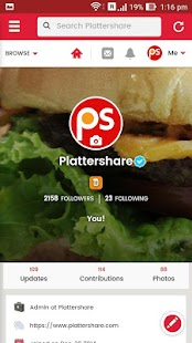 Plattershare- screenshot thumbnail