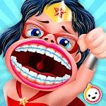 Super Kids Braces Dentist Game Icon