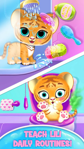 Baby Tiger Care - My Cute Virtual Pet Friend  image 2