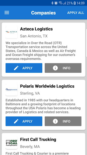 Find CDL Jobs screenshot 3