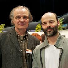 Photo: Pierre Bordage et Roland Lehoucq