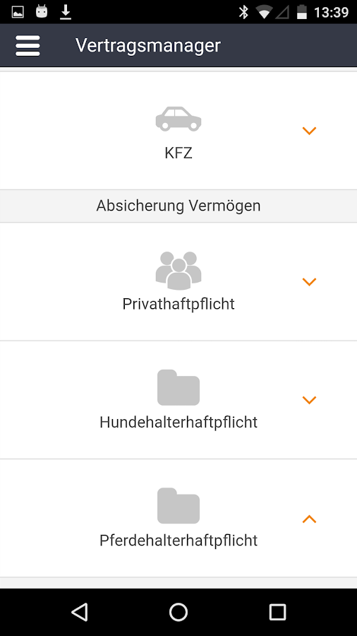 Meine FinanzApp- screenshot