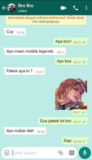 Stickers Mobile Legends - WAStickerApps 1.1 screenshots 2