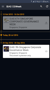SIAS 7th Singapore CG Week- screenshot thumbnail
