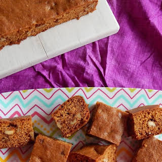 Maple Walnut Blondies.