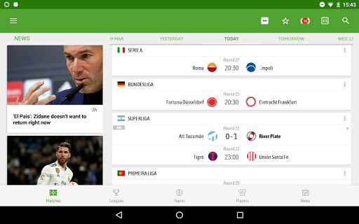 BeSoccer - Soccer Live Score screenshot 12