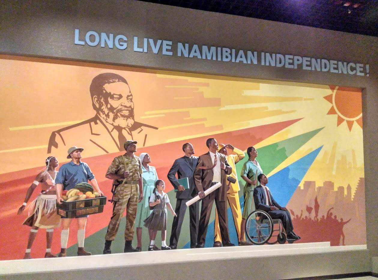 Long live Namibian independence!