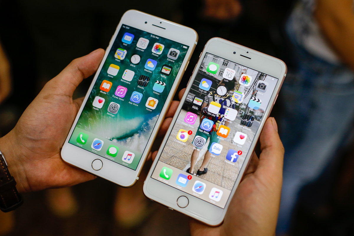Thay Màn Hình Cảm Ứng iPhone 7/7Plus Uy Tín Tại Hà Nội