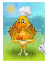 Photo: Vegetarian Thanksgiving, perhaps.