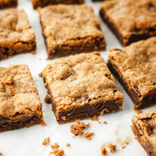 Paleo & Vegan Almond Butter Blondies