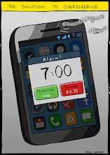 Photo: http://www.bonkersworld.net/the-solution-to-oversleeping/ #comic